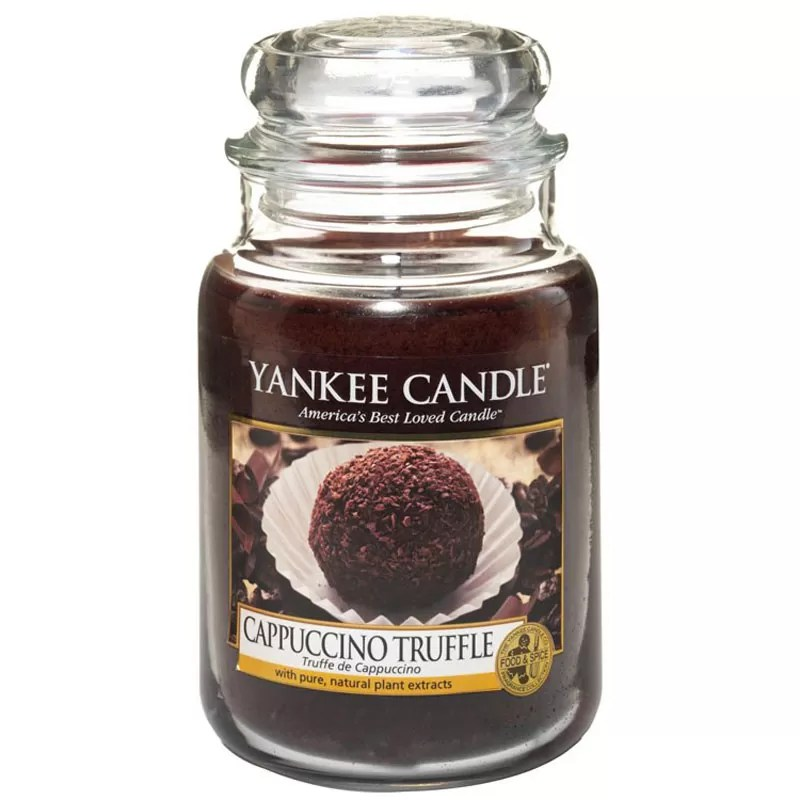 Natale 2017 - Idee regalo per amanti del caffè - Yankee Candle Cappuccino Truffle