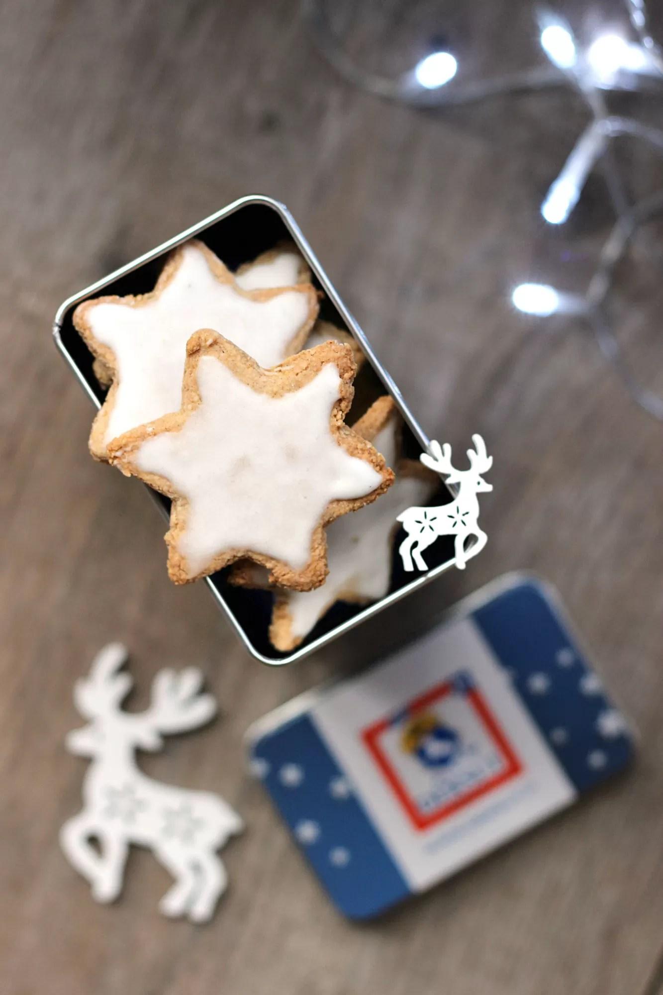 Ricetta dei biscotti di Natale zimtsterne