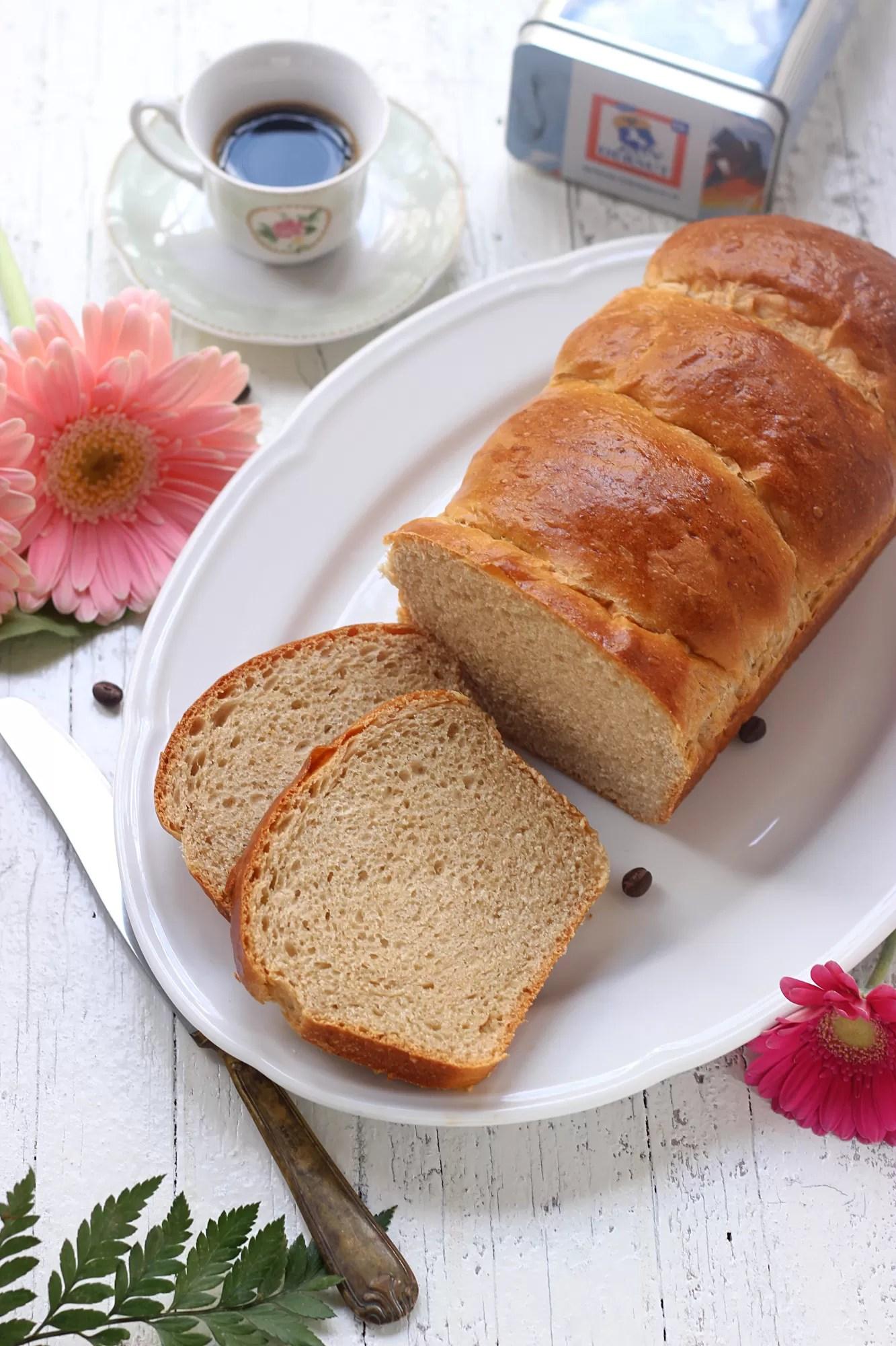 Ricetta del pane dolce al caffè
