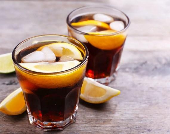 iced coffee lemonade - cocktail analcolico a base di caffè, limone e acqua tonica - dersut magazine