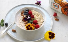 bowl di yogurt e frutta