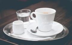 acqua e caffè