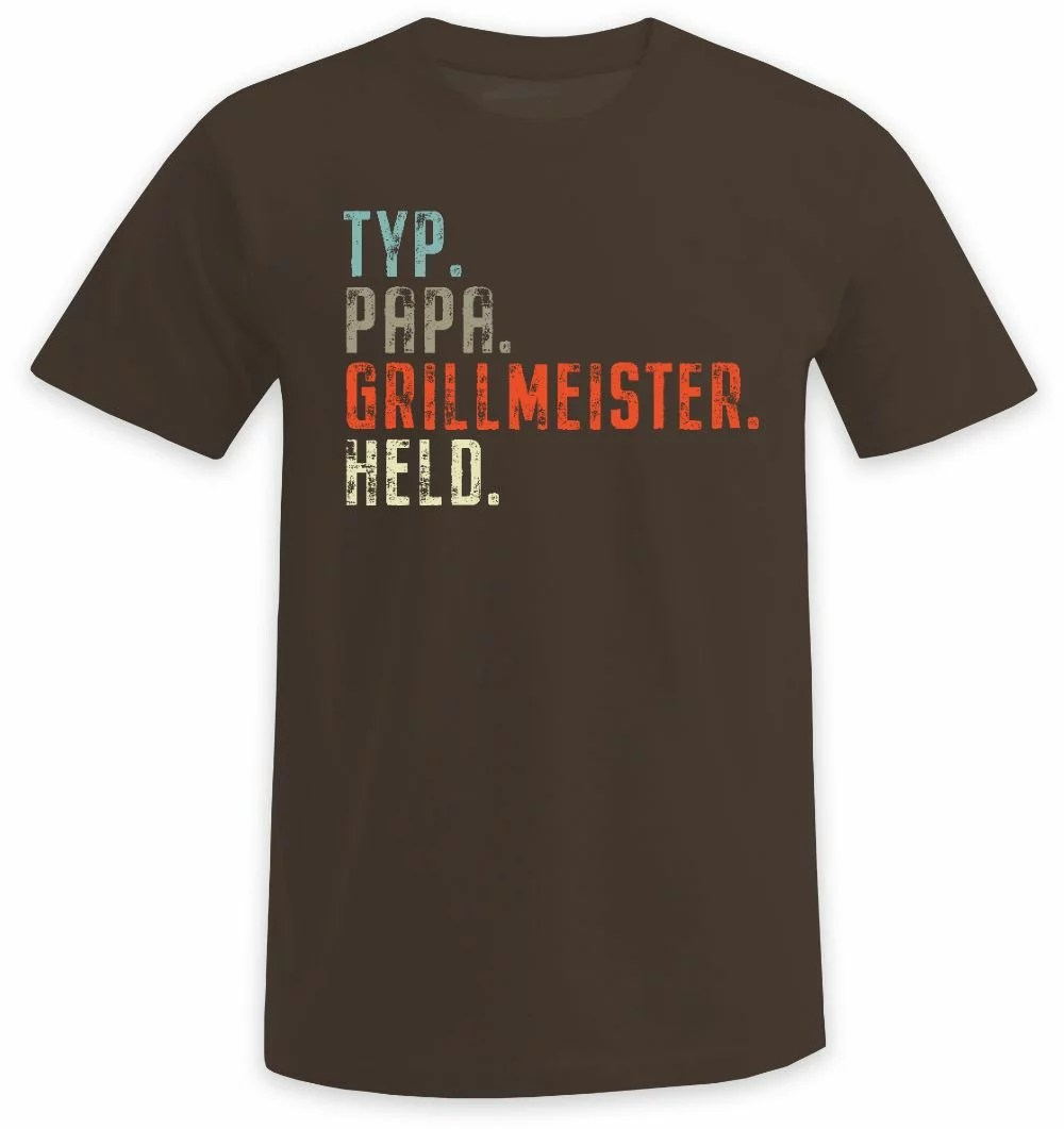 Typ - Papa - Grillmeister - Held