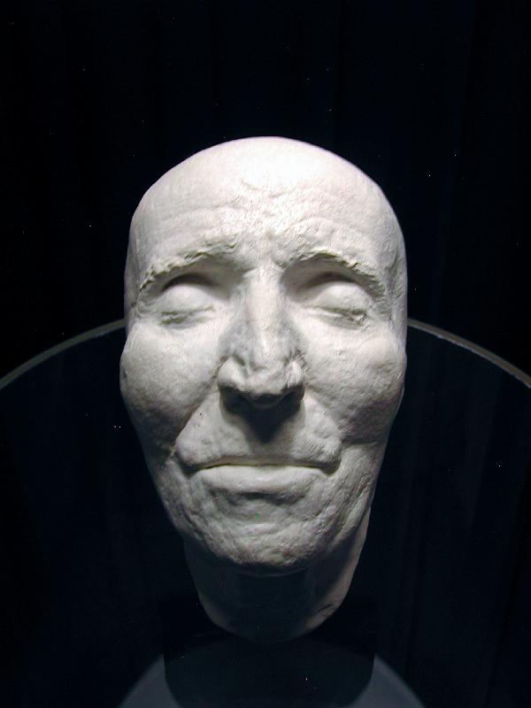 Joseph Haydn Totenmaske