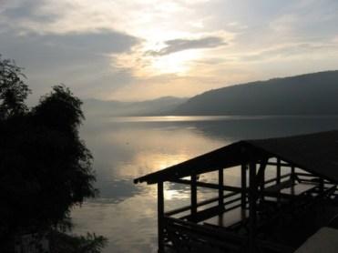 Blick auf den Donaustausee bei Eselnita