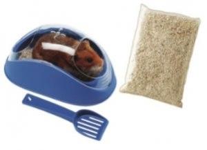 koky hamster toilet