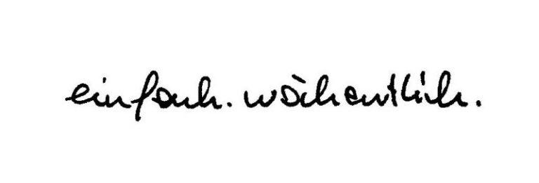 einfach.wöchentlich #131 | Gedankenbrise