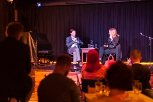 Gast Karin Leitner, Kurier und Salonier Alexander M. Schmid, Der Vereinfacher