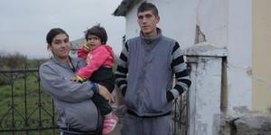 Ferenc Galyas mit seiner Familie