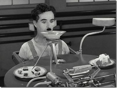 Les Temps Modernes - Machine à manger automatique