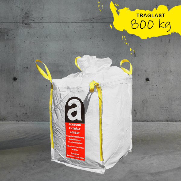 Mini Big Bag Asbest 70x70x90cm DESABAG