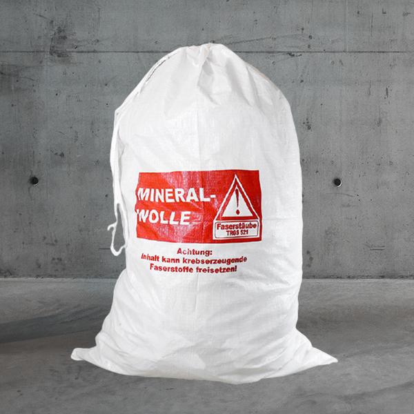 Gewebesack Mineralwolle premium,premium mineralwolle sack,premium sack miwo DESABAG