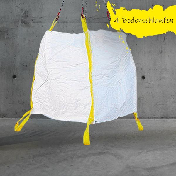 Big Bag Schüttgut 90x90x90cm mit Bodenschlaufen DESABAG