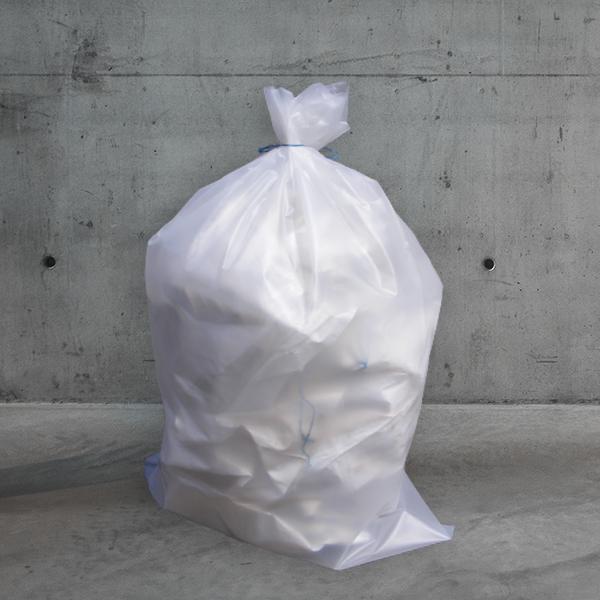 müllsack transparent,transparenter müllsack,müllsäcke transparent,Müllsack; 140x110cm; transparent,LDPE müllsack DESABAG