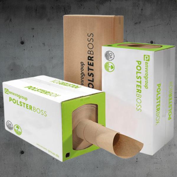 Papierpolster, papierpolster systeme DESABAG