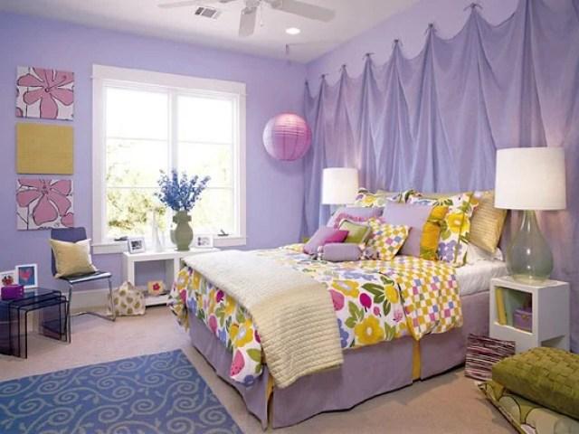cama de la habitación Wisteria