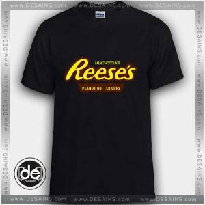 Buy Tshirt Reeses Peanut Butter Cup Tshirt mens Tshirt womens Size S-3XL