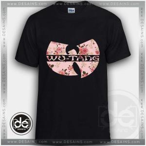 Buy Tshirt Wu Tang Clan Rose Custom Tshirt mens Tshirt womens