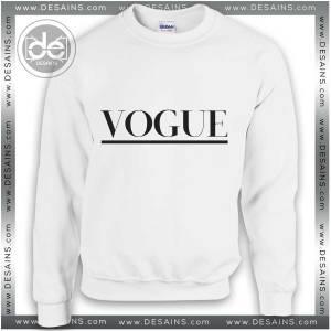 Buy Sweatshirt Vogue Style logo for Sweatshirt Mens and Sweater Womens Adult