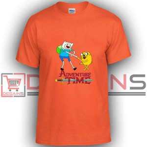 Adventure Time FriendBuy Tshirt Adventure Time Friendship Tshirt Kids and Adult Tshirt Custom Whiteship tshirt Orange