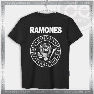 Tshirt Ramones Band logo Tshirt mens Tshirt womens Tees Size S-3XL