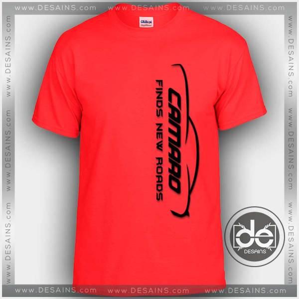 Buy Tshirt Camaro Finds New Road Tshirt mens Tshirt womens