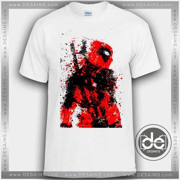 Buy Tshirt Dead Pool Paint Tshirt mens Tshirt womens Tees Size S-3XL