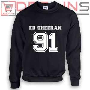 Sweatshirt Ed Sheeran 91 Birthday Sweater Womens and Sweater Mens