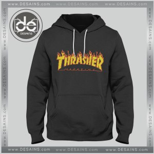 Hoodies Thrasher Magazine Logo Hoodie Mens Womens Adult Unisex