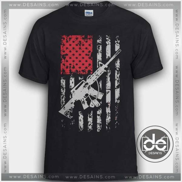 Tshirt American Fighter Flag Tshirt mens Tshirt womens Tees Size S-3XL