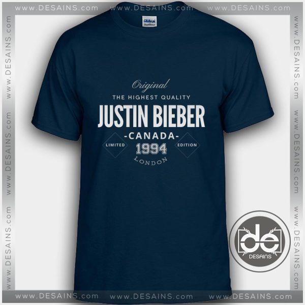 Buy Tshirt Justin Bieber London Canada Tshirt mens Tshirt womens