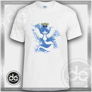 Buy Tshirt Pokemon Go Team Mystic Tshirt Kids Children and Adult Tshirt