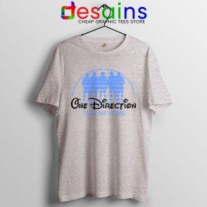 Sport Grey Tshirt One Direction Take Me Home Disney