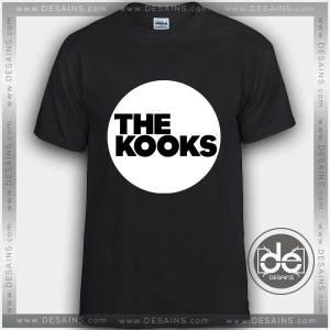 Tshirt The Kooks Band Logo Tshirt mens Tshirt womens Tees Size S-3XL