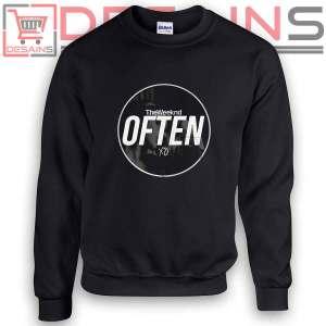 Sweatshirt The Weeknd Often XO Sweater Womens and Sweater Mens