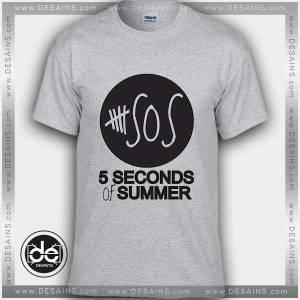 Buy Tshirt 5sos Black Logo Tshirt mens Tshirt womens Tees Size S-3XL