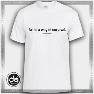 Buy Tshirt Imagine Yoko Art Survival Tshirt mens Tshirt womens Tees size S-3XL