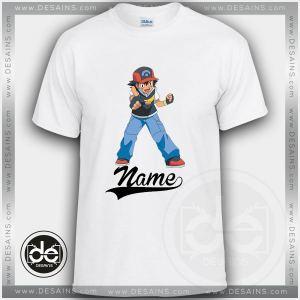 Buy Tshirt Pokemon Ash Action Tshirt Kids Youth and Adult Tshirt Custom