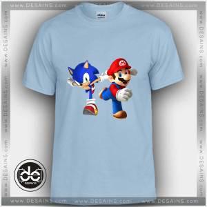 Buy Tshirt Mario Bros Sonic Dash Tshirt Kids and Adult Tshirt Custom