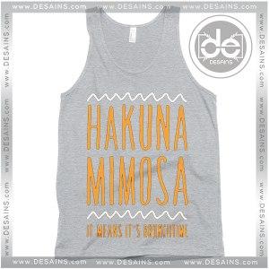 Buy Tank Top Hakuna Mimosa Tank Top Womens and Mens Adult