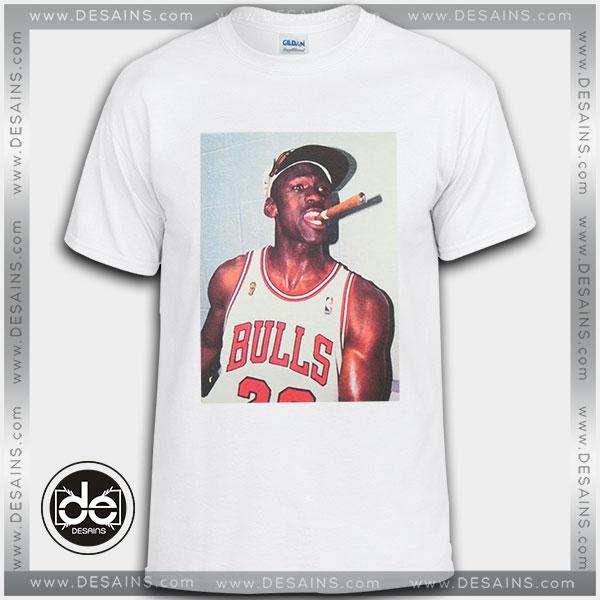 Buy Tshirt Michael Jordan Cigar Smoke Champions Tshirt Womens Tshirt Mens Size S-3XL