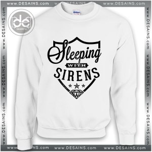 Buy Sweatshirt Sleeping with Sirens logo Sweater Womens and Sweater Mens