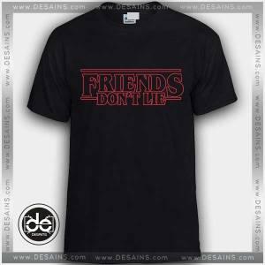 Buy Tshirt Stranger Things Friends Don't Lie Tshirt Womens Tshirt Mens Tees Size S-3XL