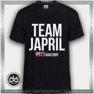 Buy Tshirt Greys Anatomy Team Japril Tshirt Womens Tshirt Mens Tees size S-3XL