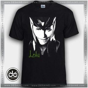 Buy Tshirt Loki Laufeyson Avengers character Tshirt Print Womens Mens Size S-3XL