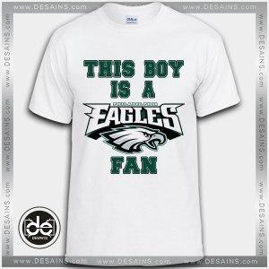 Buy Tshirt Philadelphia Eagles Fan Boy Tshirt Print Womens Mens Size S-3XL