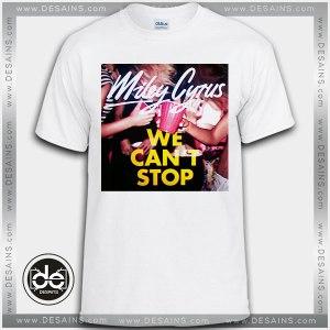 Buy Tshirt Miley Cyrus We Can't Stop Tshirt Womens Tshirt Mens Tees Size S-3XL