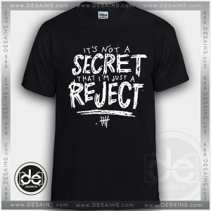 Buy Tshirt 5SOS Rejects Lyrics Custom T Shirt Online Store
