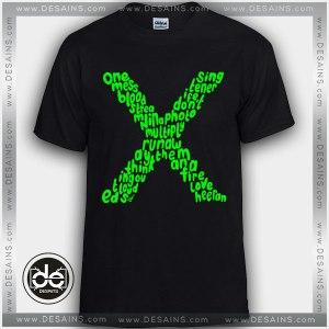 Best Tee Shirt Ed Sheeran Singer Custom Tshirt Review