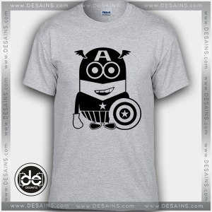 Best Tee Shirt Minions Captain America T-shirt Kids and Adult